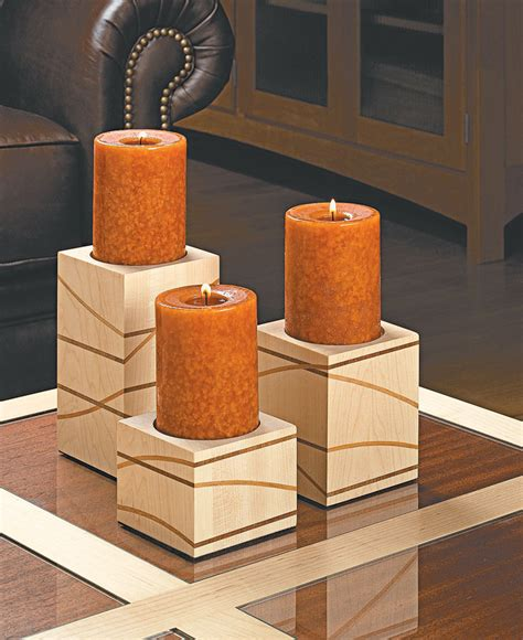 candle holder woodworking plans