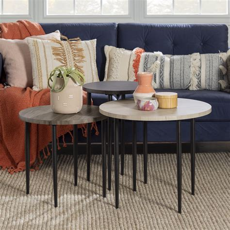 Candy 3 Piece Nesting Tables