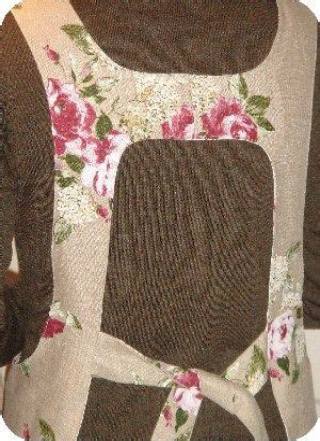 Canning Kitchen Apron Pattern