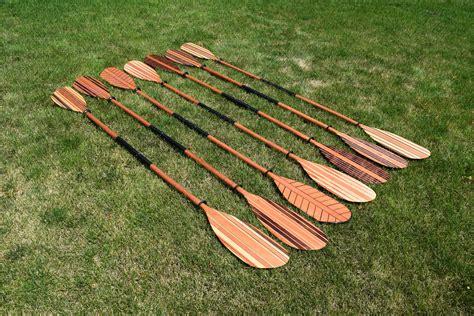 Canoe Paddles Wooden