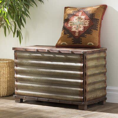 Canon City Corrugated Blanket Chest