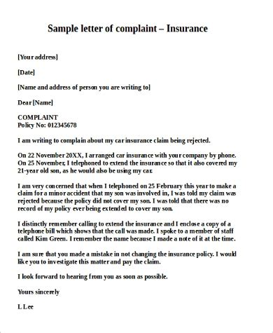 100+ [ Insurance Cancellation Letter Template ] | Consumer Letter