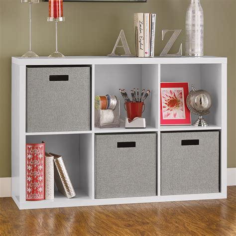 Carbone Accent Cube Unit Bookcase