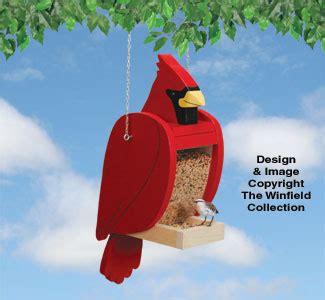Cardinal Bird Feeder Plans