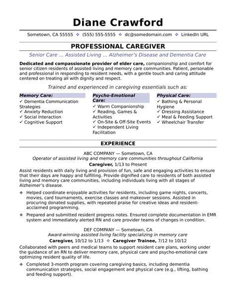 caregiver sample resume objectives caregiver jobs example of caregiver resume samples - Babysitter Resume Objective