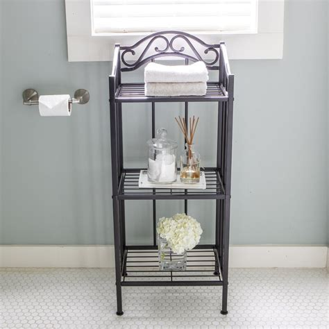 Carita 14.5 W x 36 H Bathroom Shelf