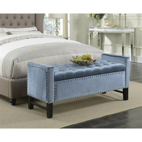 Carlie Upholstered Storage Bench