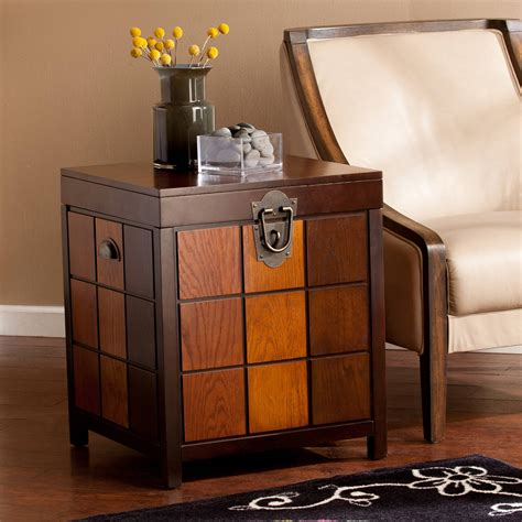 Carlo Trunk End Table
