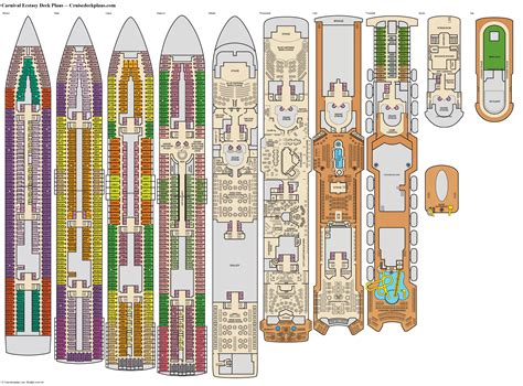 Carnival Cruise Deck Plans