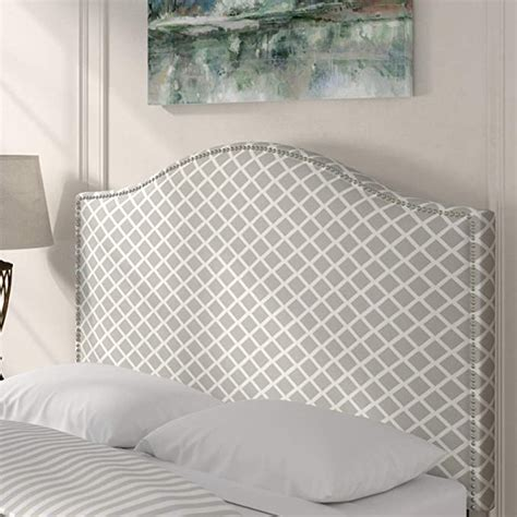 Carol Queen Upholstered Panel Headboard byAlcott Hill
