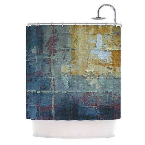 Carol Schiff Wall of Water Shower Curtain