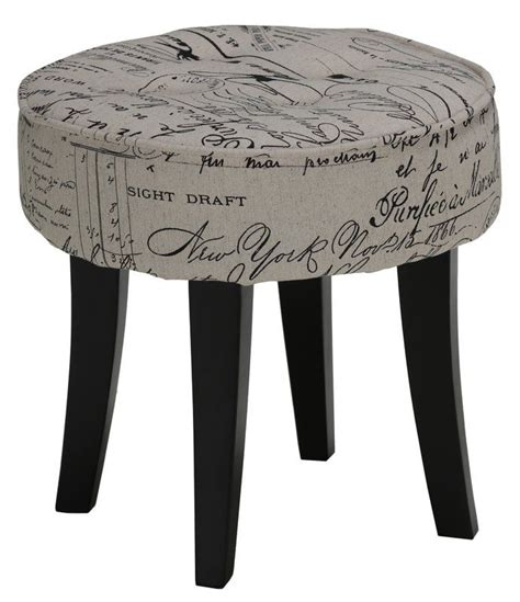Carpentersville Vanity Stool