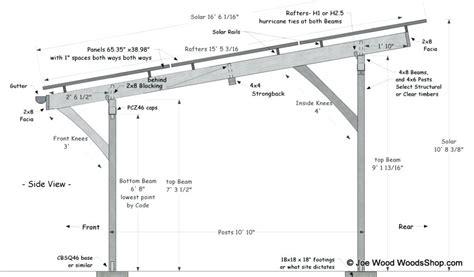 Carport Design Drawings