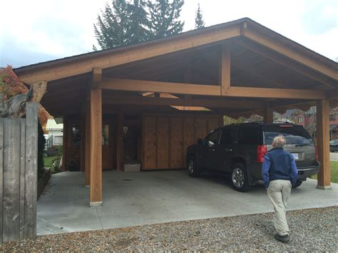 Carport Organization Ideas