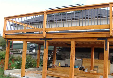 Carport With Deck On Top Plans