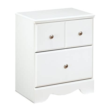 Carrabassett 2 Drawer Nightstand