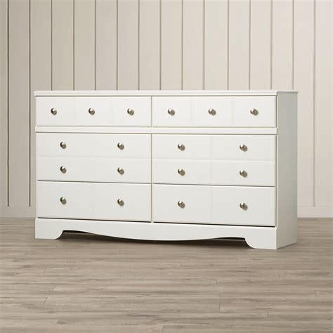 Carrabassett 6 Drawer Double Dresser byBeachcrest Home