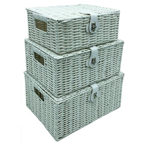 Carter 3 Basket Storage Chest