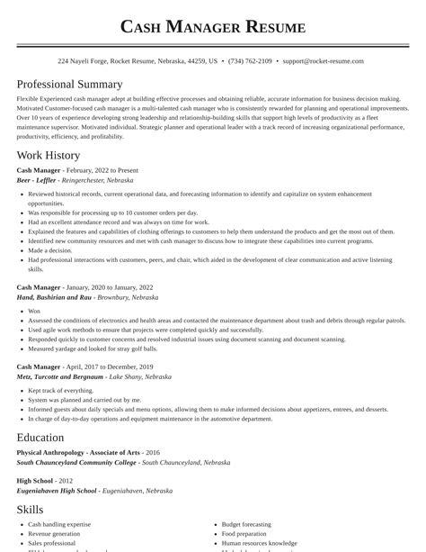 Cover Letter Samples Cash Handling | Resume Templates Download For Word