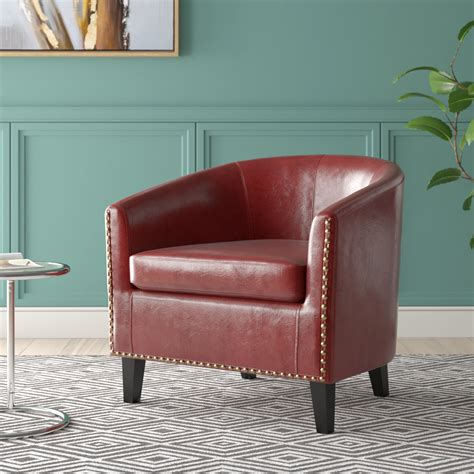 Caspar Upholstered Barrel Chair
