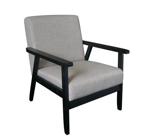 Cassady Mid Century Wood Armchair