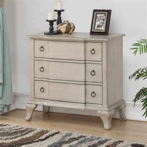 Cassilda 3 Drawer Accent Chest