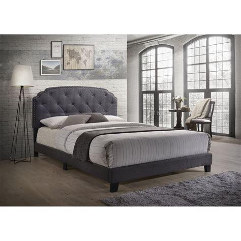Castalia Queen Upholstered Panel Bed byCharlton Home
