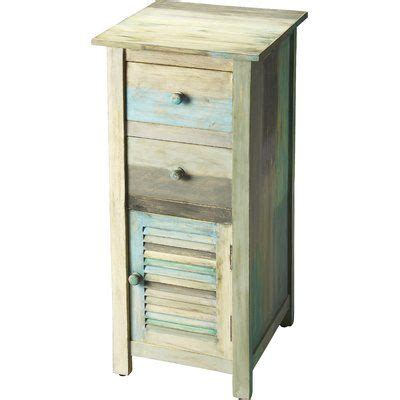 Cateline Painted Rustic 2 Drawer Chest