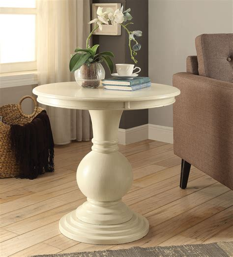Caterina Pedestal End Table