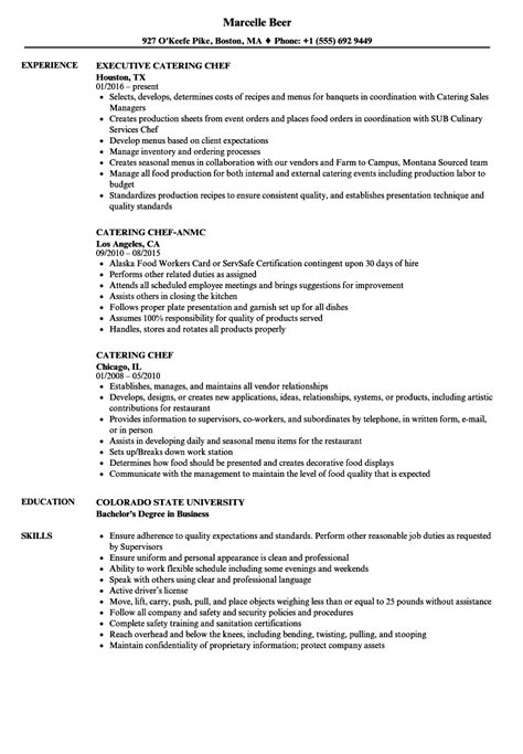 catering chef resume example safety coordinator resume example - Safety Coordinator Resume