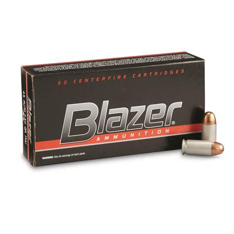 Ammunition Cci Blazer 45 Acp Ammunition.