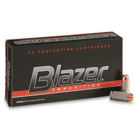 Ammunition Cci Blazer Ammunition 40 S&w 155 Grain.