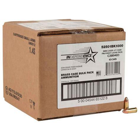 Ammunition Cci Independence Aluminum Handgun Ammunition 9mm Luger.