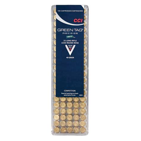 Ammunition Cci Rimfire Ammunition .22lr 40gr Lrn.