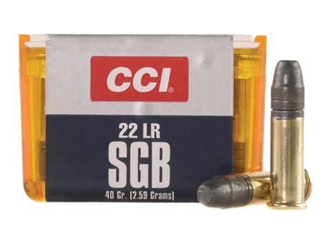 Ammunition Cci Sgb Ammunition 22 Long.