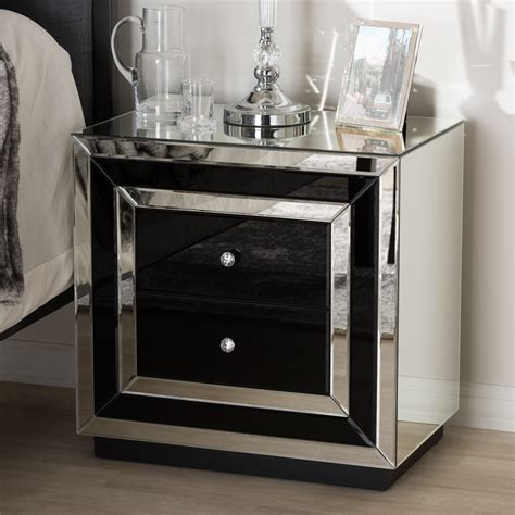 Cecelia 3 Drawer Nightstand with Jewelry Drawer