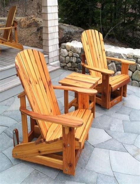 Cedar Adirondack Chair Plans