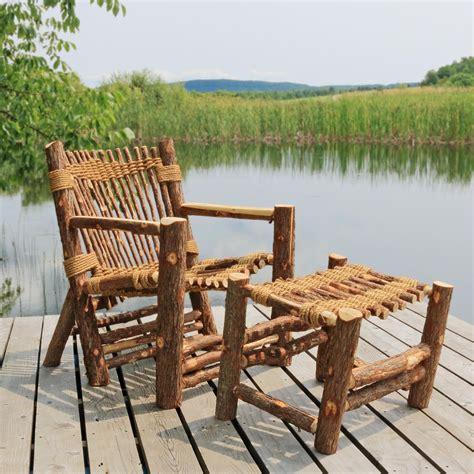 Cedar Adirondack Chairs In Vermont