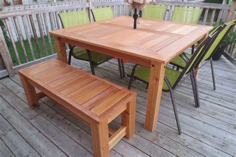 Cedar Table Plans