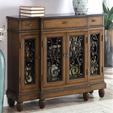 Cedarville Traditional Hallway 3 Drawer Accent Cabinet