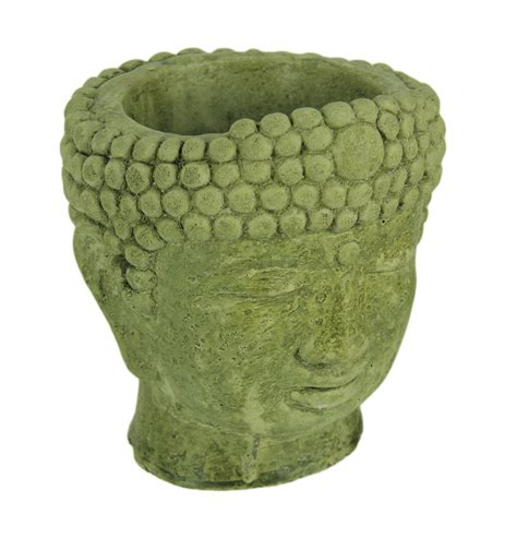 Cement Head Planter  Ebay.