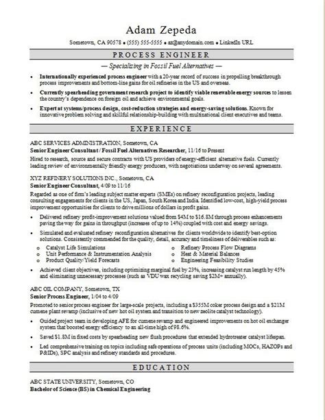 resume for cement industry cement process engineer resume example - Cement Process Engineer Sample Resume