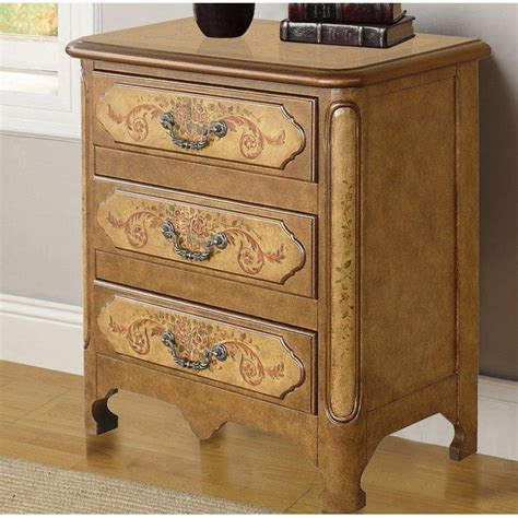 Cephas Hand Painted 3 Drawer Accent Chest