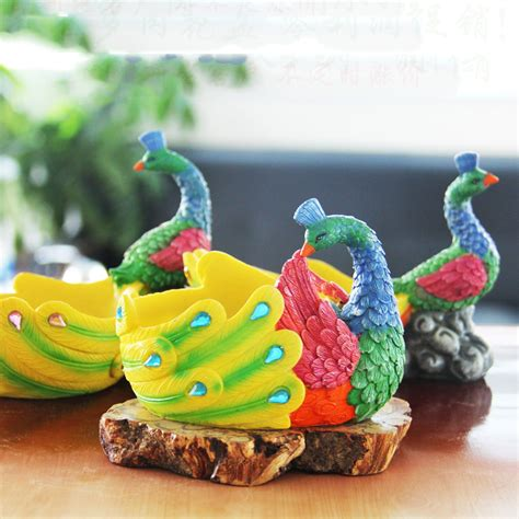 Ceramic Peacock Flower Pots - Alibaba.