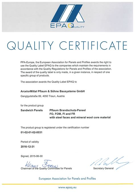 Certificate of quality template gidiyedformapolitica certificate of quality template yelopaper Images