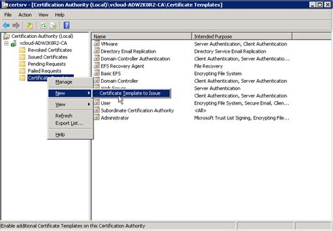 Certificate templates not showing up ca resume for graduate teachers certificate templates not showing up ca microsoft ca templates not showing up in iis web yadclub Gallery