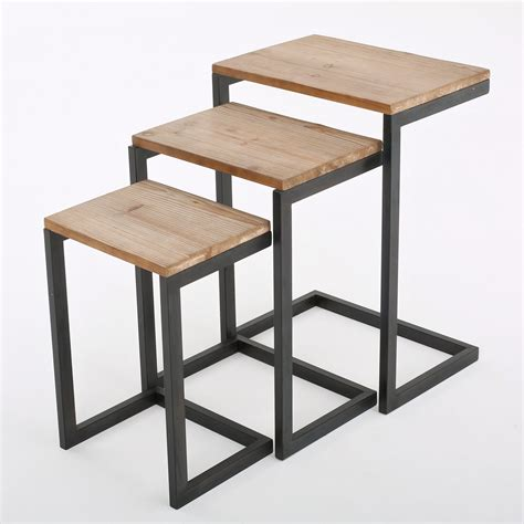 Cetus 3 Piece Nesting Tables