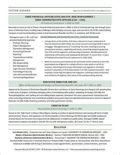 cfo cv resume sample ceo cfo executive resume example - Cfo Resume Sample