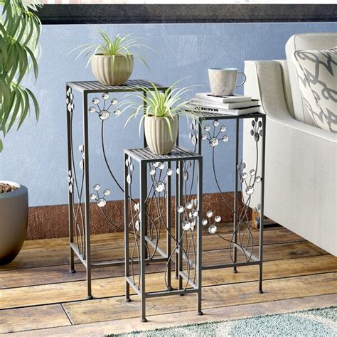 Chaim 3 Piece Plant Stand Set