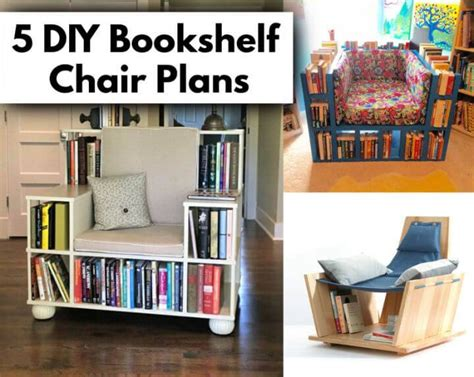 Chair Bookcase Plans